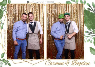 Cabina Foto Showtime - Magic Mirror - Nunta - Carmen & Bogdan - Ok Ballroom Ramnicu Valcea - Event Factory (3)