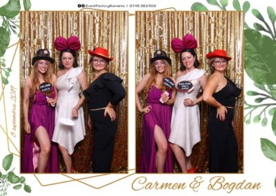 Cabina Foto Showtime - Magic Mirror - Nunta - Carmen & Bogdan - Ok Ballroom Ramnicu Valcea - Event Factory (30)