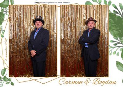 Cabina Foto Showtime - Magic Mirror - Nunta - Carmen & Bogdan - Ok Ballroom Ramnicu Valcea - Event Factory (35)