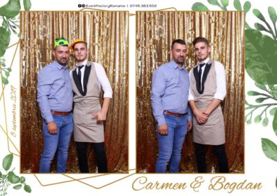 Cabina Foto Showtime - Magic Mirror - Nunta - Carmen & Bogdan - Ok Ballroom Ramnicu Valcea - Event Factory (4)