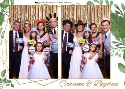 Cabina Foto Showtime - Magic Mirror - Nunta - Carmen & Bogdan - Ok Ballroom Ramnicu Valcea - Event Factory (42)