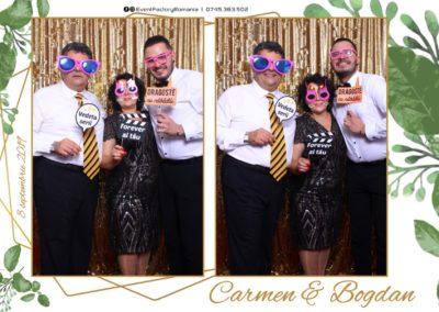 Cabina Foto Showtime - Magic Mirror - Nunta - Carmen & Bogdan - Ok Ballroom Ramnicu Valcea - Event Factory (52)