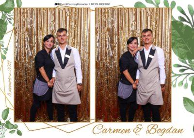 Cabina Foto Showtime - Magic Mirror - Nunta - Carmen & Bogdan - Ok Ballroom Ramnicu Valcea - Event Factory (6)