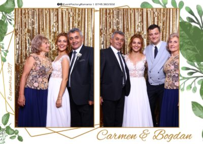 Cabina Foto Showtime - Magic Mirror - Nunta - Carmen & Bogdan - Ok Ballroom Ramnicu Valcea - Event Factory (7)