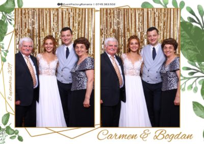 Cabina Foto Showtime - Magic Mirror - Nunta - Carmen & Bogdan - Ok Ballroom Ramnicu Valcea - Event Factory (8)