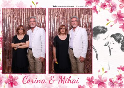 Cabina Foto Showtime - Magic Mirror -Nunta - Corina si Mihai - Restaurant Paradis Royal Ramnicu Valcea - Event Factory (1)
