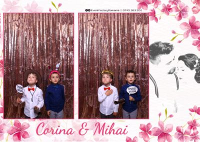 Cabina Foto Showtime - Magic Mirror -Nunta - Corina si Mihai - Restaurant Paradis Royal Ramnicu Valcea - Event Factory (10)
