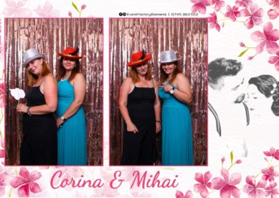 Cabina Foto Showtime - Magic Mirror -Nunta - Corina si Mihai - Restaurant Paradis Royal Ramnicu Valcea - Event Factory (106)