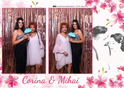 Cabina Foto Showtime - Magic Mirror -Nunta - Corina si Mihai - Restaurant Paradis Royal Ramnicu Valcea - Event Factory (11)