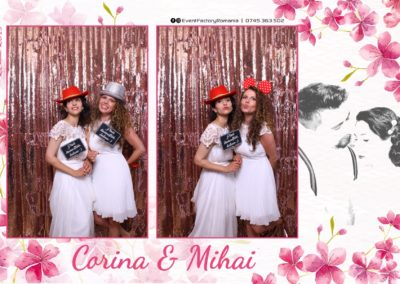 Cabina Foto Showtime - Magic Mirror -Nunta - Corina si Mihai - Restaurant Paradis Royal Ramnicu Valcea - Event Factory (110)
