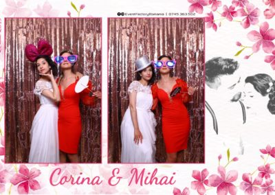 Cabina Foto Showtime - Magic Mirror -Nunta - Corina si Mihai - Restaurant Paradis Royal Ramnicu Valcea - Event Factory (111)