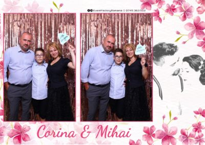 Cabina Foto Showtime - Magic Mirror -Nunta - Corina si Mihai - Restaurant Paradis Royal Ramnicu Valcea - Event Factory (112)