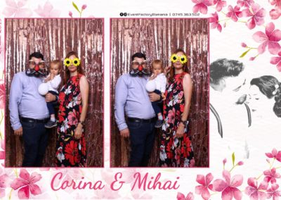 Cabina Foto Showtime - Magic Mirror -Nunta - Corina si Mihai - Restaurant Paradis Royal Ramnicu Valcea - Event Factory (115)