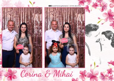 Cabina Foto Showtime - Magic Mirror -Nunta - Corina si Mihai - Restaurant Paradis Royal Ramnicu Valcea - Event Factory (12)