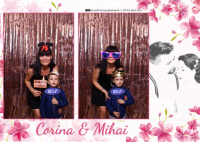 Cabina Foto Showtime - Magic Mirror -Nunta - Corina si Mihai - Restaurant Paradis Royal Ramnicu Valcea - Event Factory (123)