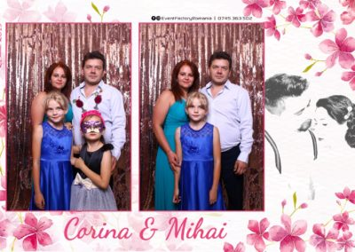 Cabina Foto Showtime - Magic Mirror -Nunta - Corina si Mihai - Restaurant Paradis Royal Ramnicu Valcea - Event Factory (13)