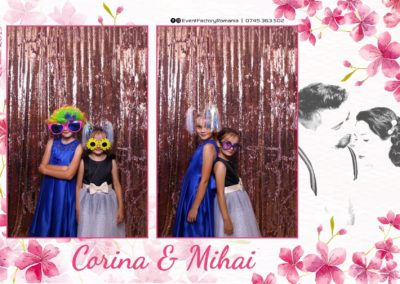 Cabina Foto Showtime - Magic Mirror -Nunta - Corina si Mihai - Restaurant Paradis Royal Ramnicu Valcea - Event Factory (14)