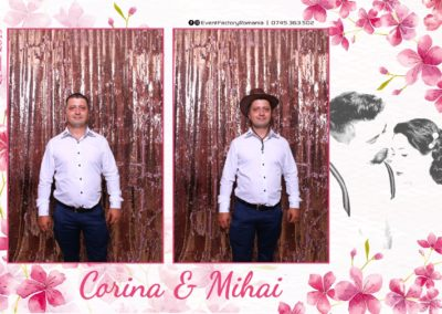 Cabina Foto Showtime - Magic Mirror -Nunta - Corina si Mihai - Restaurant Paradis Royal Ramnicu Valcea - Event Factory (17)