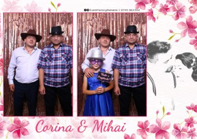 Cabina Foto Showtime - Magic Mirror -Nunta - Corina si Mihai - Restaurant Paradis Royal Ramnicu Valcea - Event Factory (18)