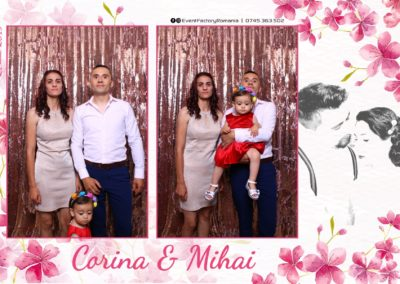 Cabina Foto Showtime - Magic Mirror -Nunta - Corina si Mihai - Restaurant Paradis Royal Ramnicu Valcea - Event Factory (20)