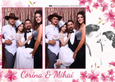 Cabina Foto Showtime - Magic Mirror -Nunta - Corina si Mihai - Restaurant Paradis Royal Ramnicu Valcea - Event Factory (26)