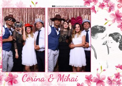 Cabina Foto Showtime - Magic Mirror -Nunta - Corina si Mihai - Restaurant Paradis Royal Ramnicu Valcea - Event Factory (28)