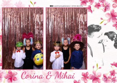 Cabina Foto Showtime - Magic Mirror -Nunta - Corina si Mihai - Restaurant Paradis Royal Ramnicu Valcea - Event Factory (3)