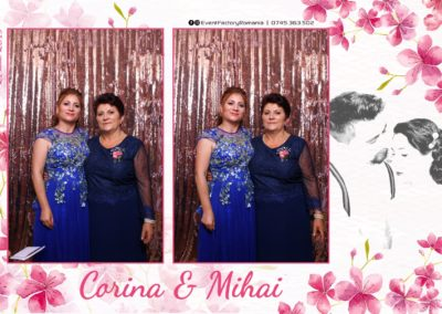 Cabina Foto Showtime - Magic Mirror -Nunta - Corina si Mihai - Restaurant Paradis Royal Ramnicu Valcea - Event Factory (31)