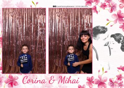 Cabina Foto Showtime - Magic Mirror -Nunta - Corina si Mihai - Restaurant Paradis Royal Ramnicu Valcea - Event Factory (32)