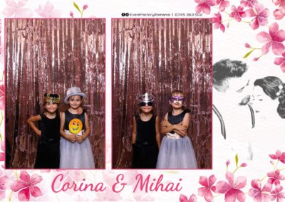 Cabina Foto Showtime - Magic Mirror -Nunta - Corina si Mihai - Restaurant Paradis Royal Ramnicu Valcea - Event Factory (4)