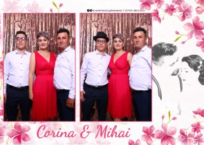 Cabina Foto Showtime - Magic Mirror -Nunta - Corina si Mihai - Restaurant Paradis Royal Ramnicu Valcea - Event Factory (40)