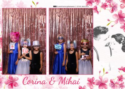 Cabina Foto Showtime - Magic Mirror -Nunta - Corina si Mihai - Restaurant Paradis Royal Ramnicu Valcea - Event Factory (41)
