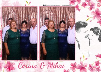 Cabina Foto Showtime - Magic Mirror -Nunta - Corina si Mihai - Restaurant Paradis Royal Ramnicu Valcea - Event Factory (44)