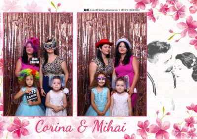 Cabina Foto Showtime - Magic Mirror -Nunta - Corina si Mihai - Restaurant Paradis Royal Ramnicu Valcea - Event Factory (5)