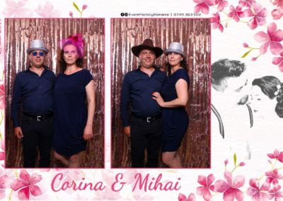 Cabina Foto Showtime - Magic Mirror -Nunta - Corina si Mihai - Restaurant Paradis Royal Ramnicu Valcea - Event Factory (51)