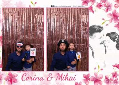 Cabina Foto Showtime - Magic Mirror -Nunta - Corina si Mihai - Restaurant Paradis Royal Ramnicu Valcea - Event Factory (52)