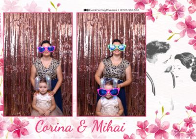 Cabina Foto Showtime - Magic Mirror -Nunta - Corina si Mihai - Restaurant Paradis Royal Ramnicu Valcea - Event Factory (59)