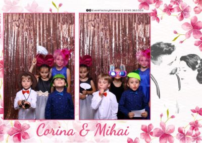 Cabina Foto Showtime - Magic Mirror -Nunta - Corina si Mihai - Restaurant Paradis Royal Ramnicu Valcea - Event Factory (6)