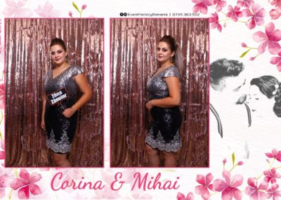 Cabina Foto Showtime - Magic Mirror -Nunta - Corina si Mihai - Restaurant Paradis Royal Ramnicu Valcea - Event Factory (61)