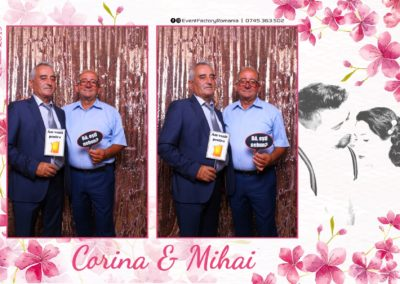Cabina Foto Showtime - Magic Mirror -Nunta - Corina si Mihai - Restaurant Paradis Royal Ramnicu Valcea - Event Factory (62)