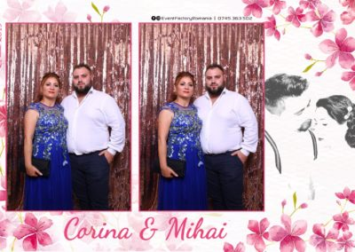 Cabina Foto Showtime - Magic Mirror -Nunta - Corina si Mihai - Restaurant Paradis Royal Ramnicu Valcea - Event Factory (64)