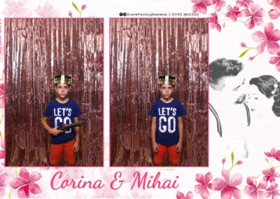 Cabina Foto Showtime - Magic Mirror -Nunta - Corina si Mihai - Restaurant Paradis Royal Ramnicu Valcea - Event Factory (7)