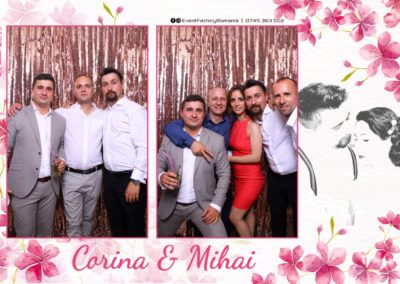 Cabina Foto Showtime - Magic Mirror -Nunta - Corina si Mihai - Restaurant Paradis Royal Ramnicu Valcea - Event Factory (71)