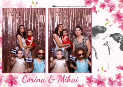 Cabina Foto Showtime - Magic Mirror -Nunta - Corina si Mihai - Restaurant Paradis Royal Ramnicu Valcea - Event Factory (72)