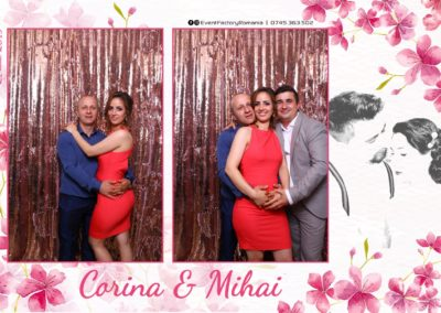 Cabina Foto Showtime - Magic Mirror -Nunta - Corina si Mihai - Restaurant Paradis Royal Ramnicu Valcea - Event Factory (73)