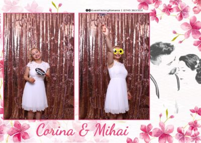 Cabina Foto Showtime - Magic Mirror -Nunta - Corina si Mihai - Restaurant Paradis Royal Ramnicu Valcea - Event Factory (74)
