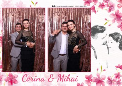 Cabina Foto Showtime - Magic Mirror -Nunta - Corina si Mihai - Restaurant Paradis Royal Ramnicu Valcea - Event Factory (75)