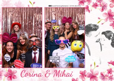 Cabina Foto Showtime - Magic Mirror -Nunta - Corina si Mihai - Restaurant Paradis Royal Ramnicu Valcea - Event Factory (81)