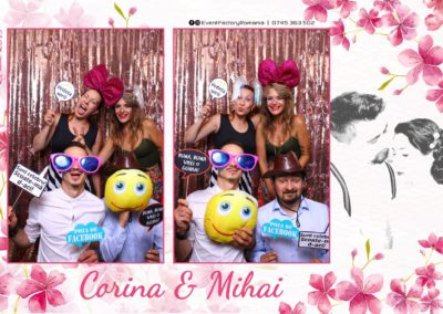 Cabina Foto Showtime - Magic Mirror -Nunta - Corina si Mihai - Restaurant Paradis Royal Ramnicu Valcea - Event Factory (82)