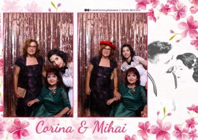 Cabina Foto Showtime - Magic Mirror -Nunta - Corina si Mihai - Restaurant Paradis Royal Ramnicu Valcea - Event Factory (87)